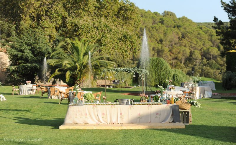 Exclusive weddings in Mas Cabanyes